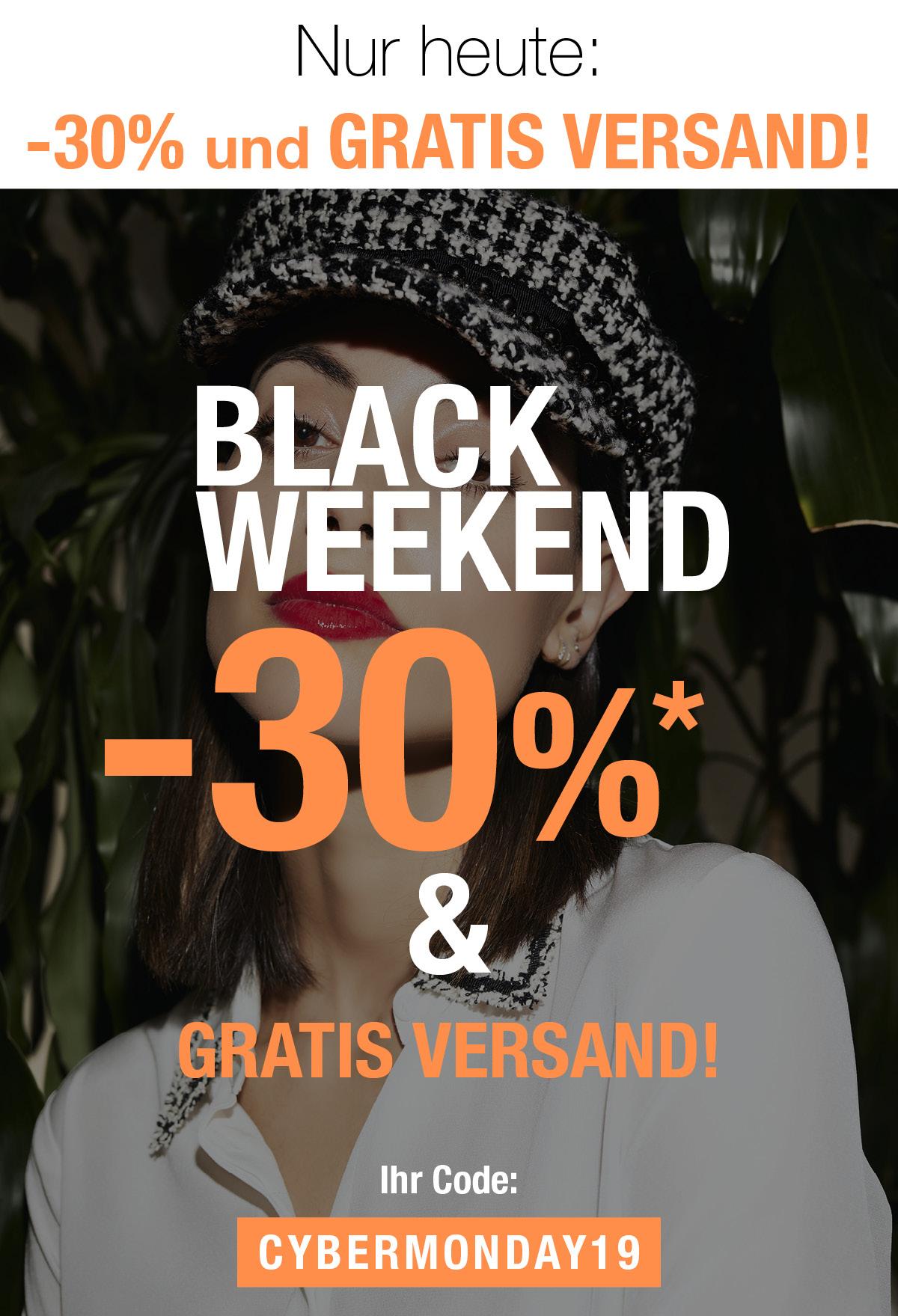 -30% & gratis Versand